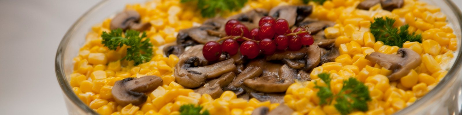 fresh & joy events- Schichtsalat mit Hähnchen