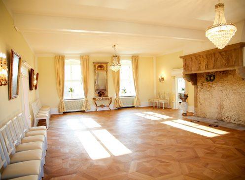 Die Räumlichkeiten von Schloss Hammerstein auf einem Blick