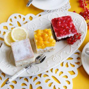 Kuchenhappen Früchte Mix