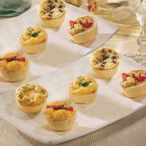 Bestellen Sie die Quiche Platte von Fresh&Joy für Ihr Event mit Buffet