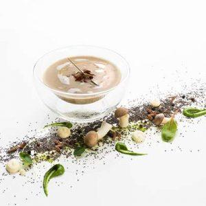 Champignonssuppe
